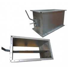 DKPU 100-100 клапан утепленный 1000х1000 ВП