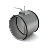 Воздушный клапан круглый утепленный KKU 100